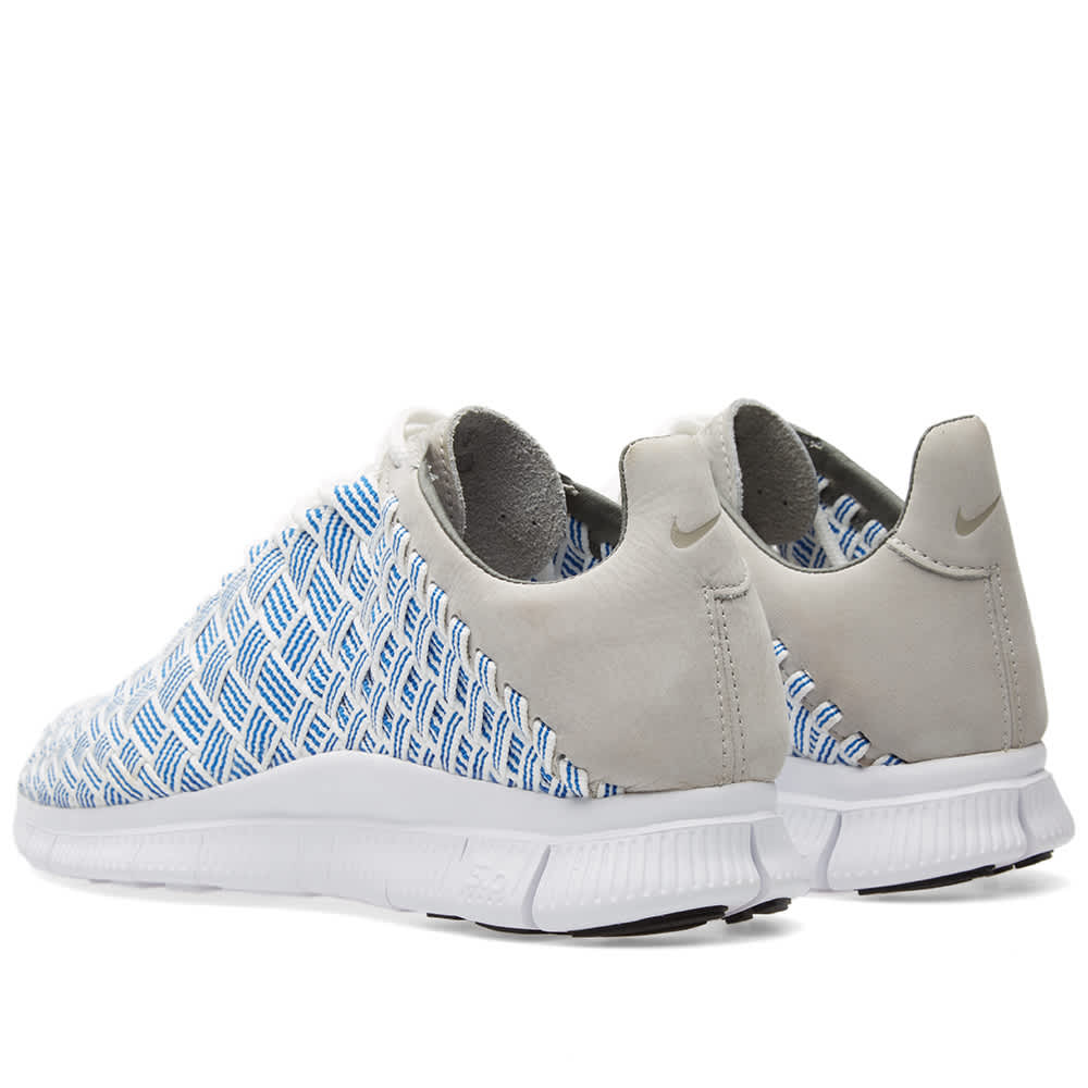 Nike Free Inneva Woven - Fountain Blue & Summit White
