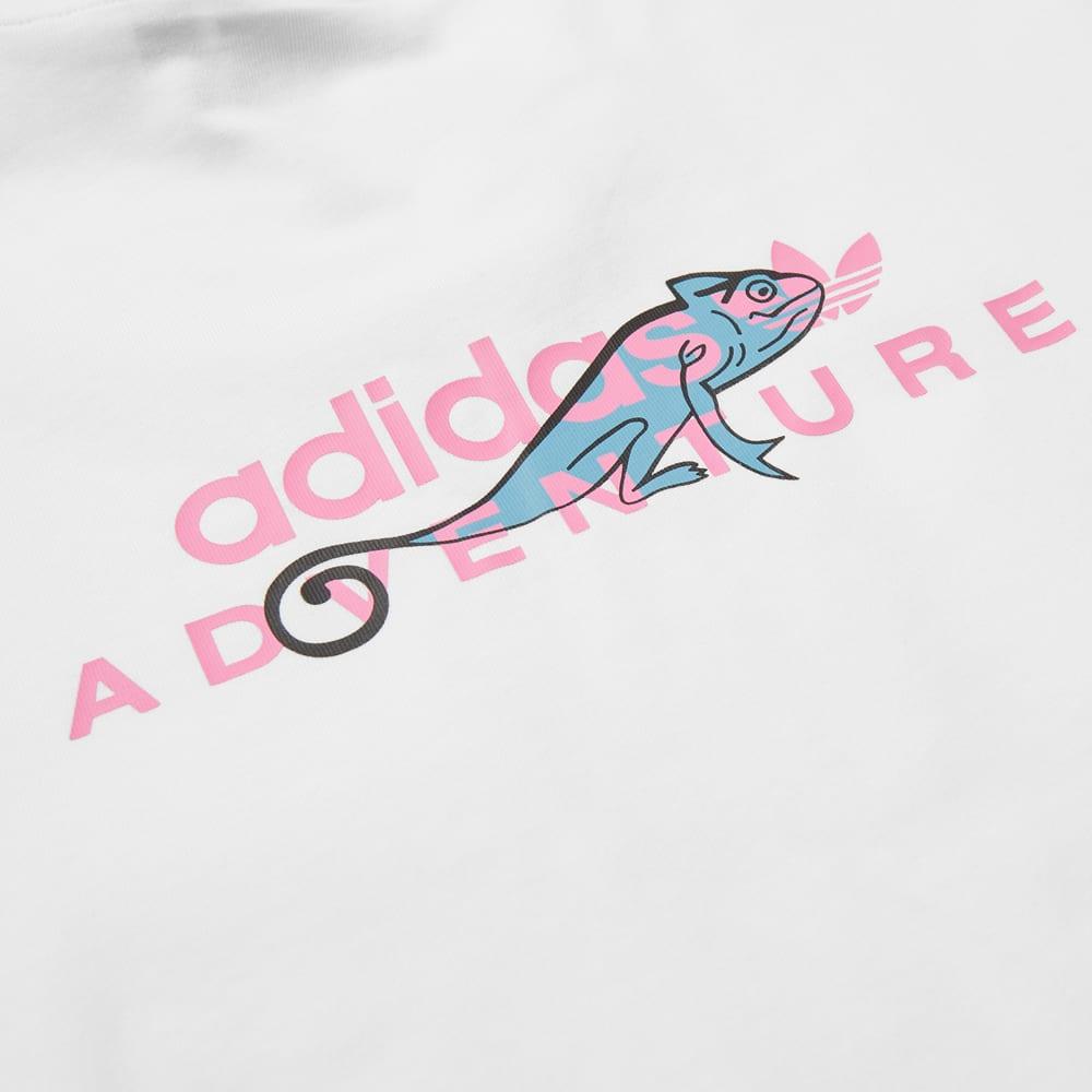 Adidas Adventure Pocket Tee - White