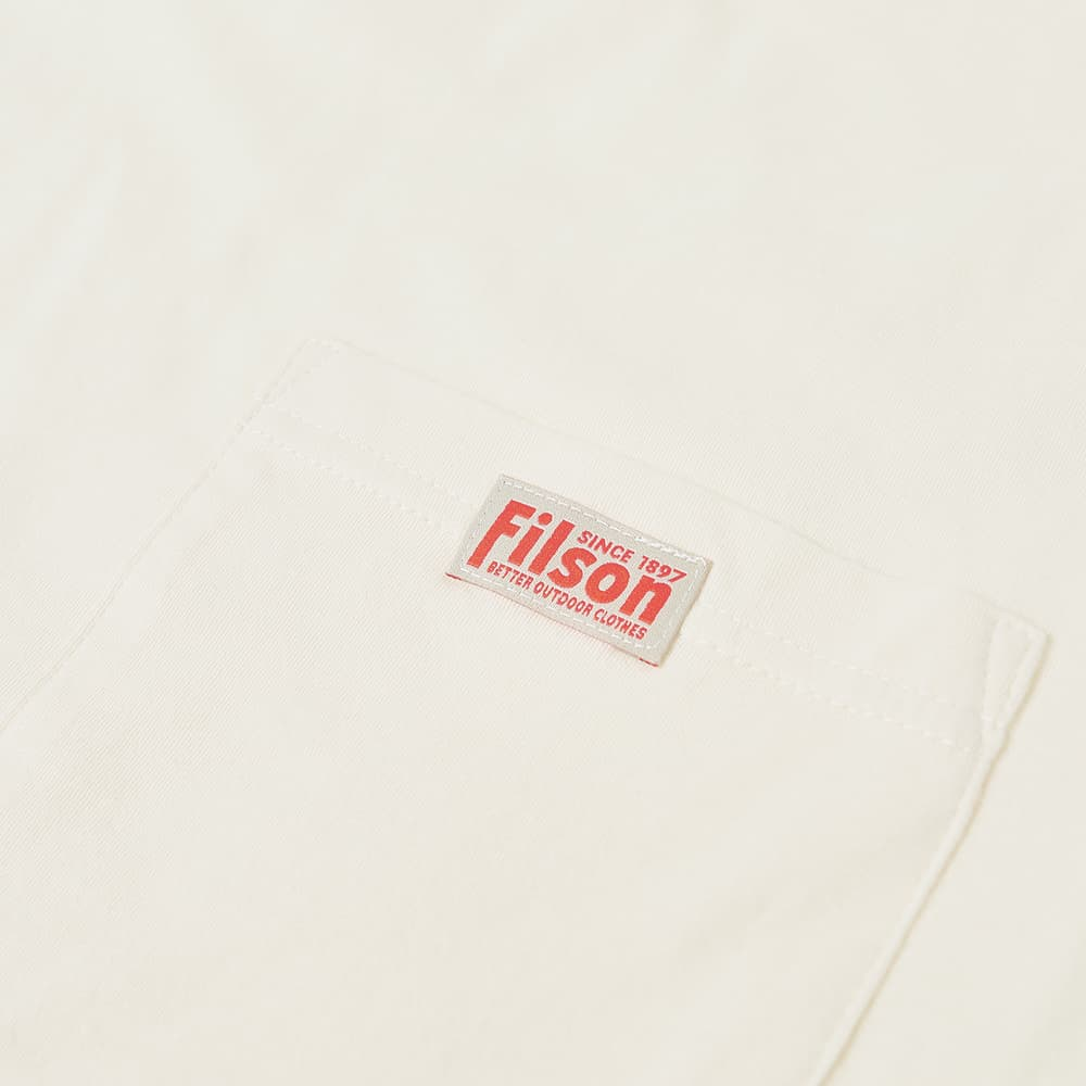 Filson Ranger Pocket Tee - White