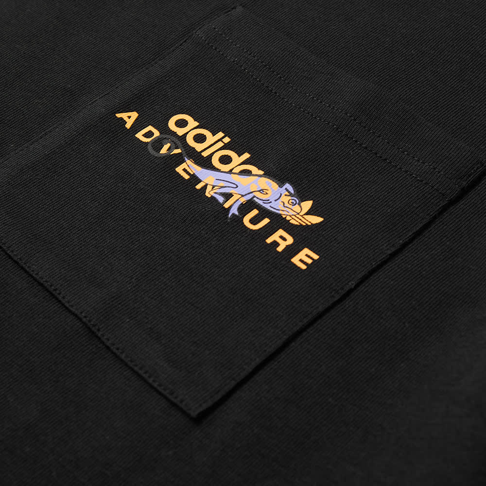 Adidas Adventure Pocket Tee - Black