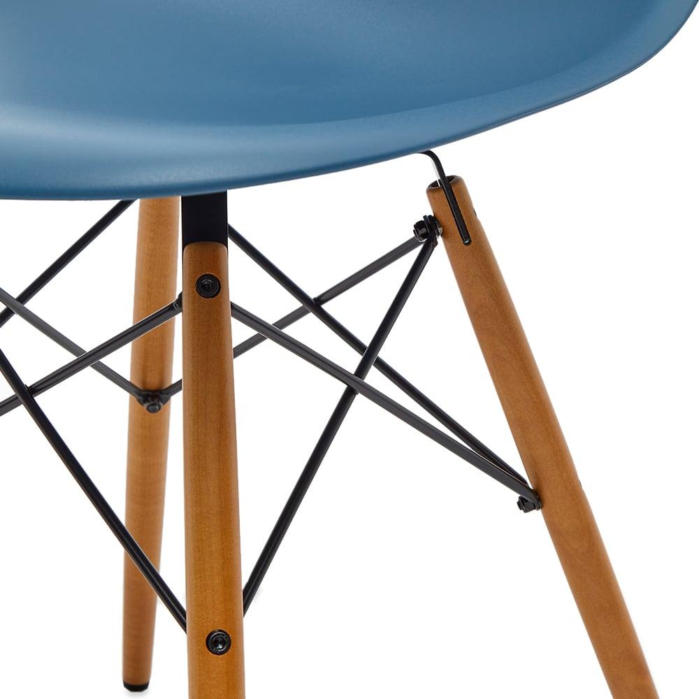Vitra Eames DSW Side Chair Light Maple Legs - Sea Blue
