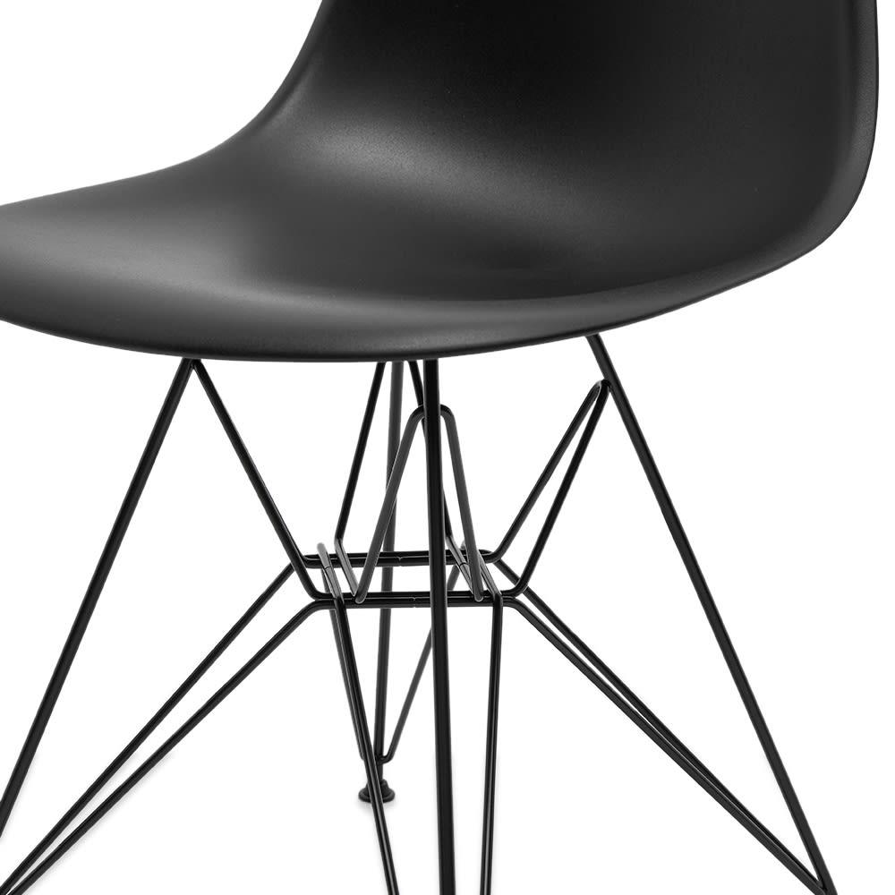 Vitra Eames DSR Side Chair Black Legs - Black