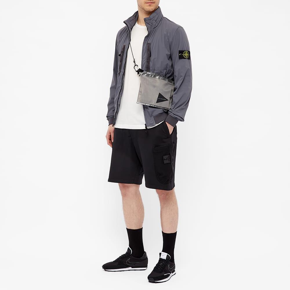 Stone Island Nylon Garment Dyed Jacket - Pewter Grey