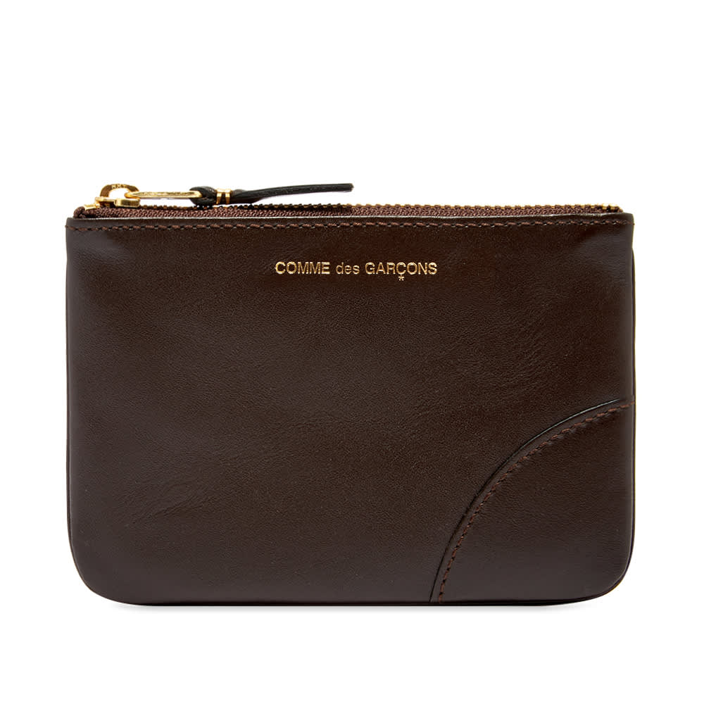 Comme des Garcons SA8100 Classic Wallet - Brown