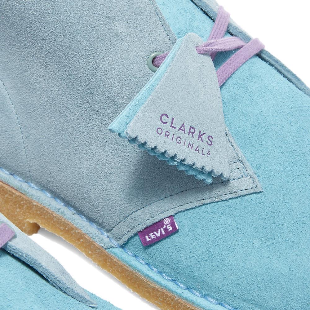Clarks Originals x Levi's Vintage Clothing Desert Boot - Pale Blue