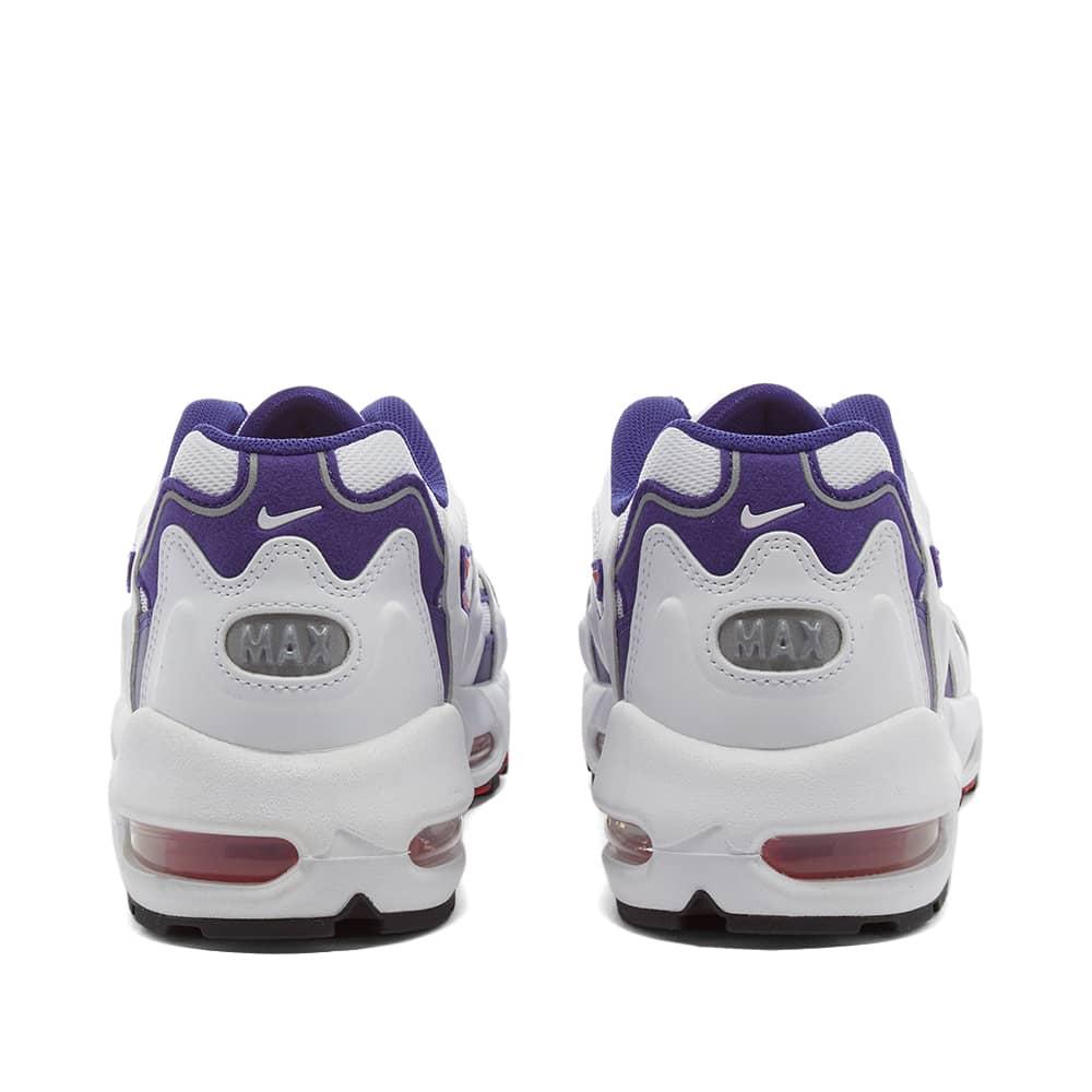 Nike Air Max 96 Ii Og W - White, Comet Red & Grape Ice
