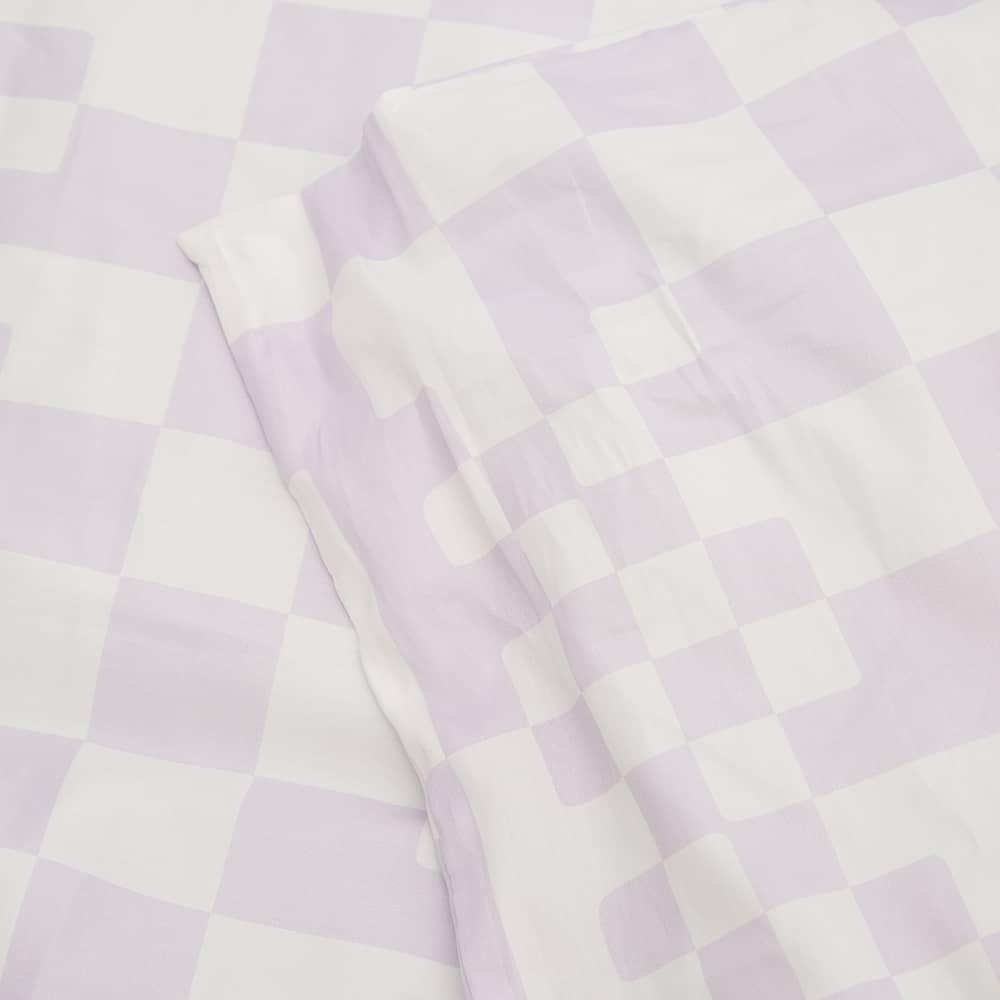 Dusen Dusen King Duvet Set - Lavender