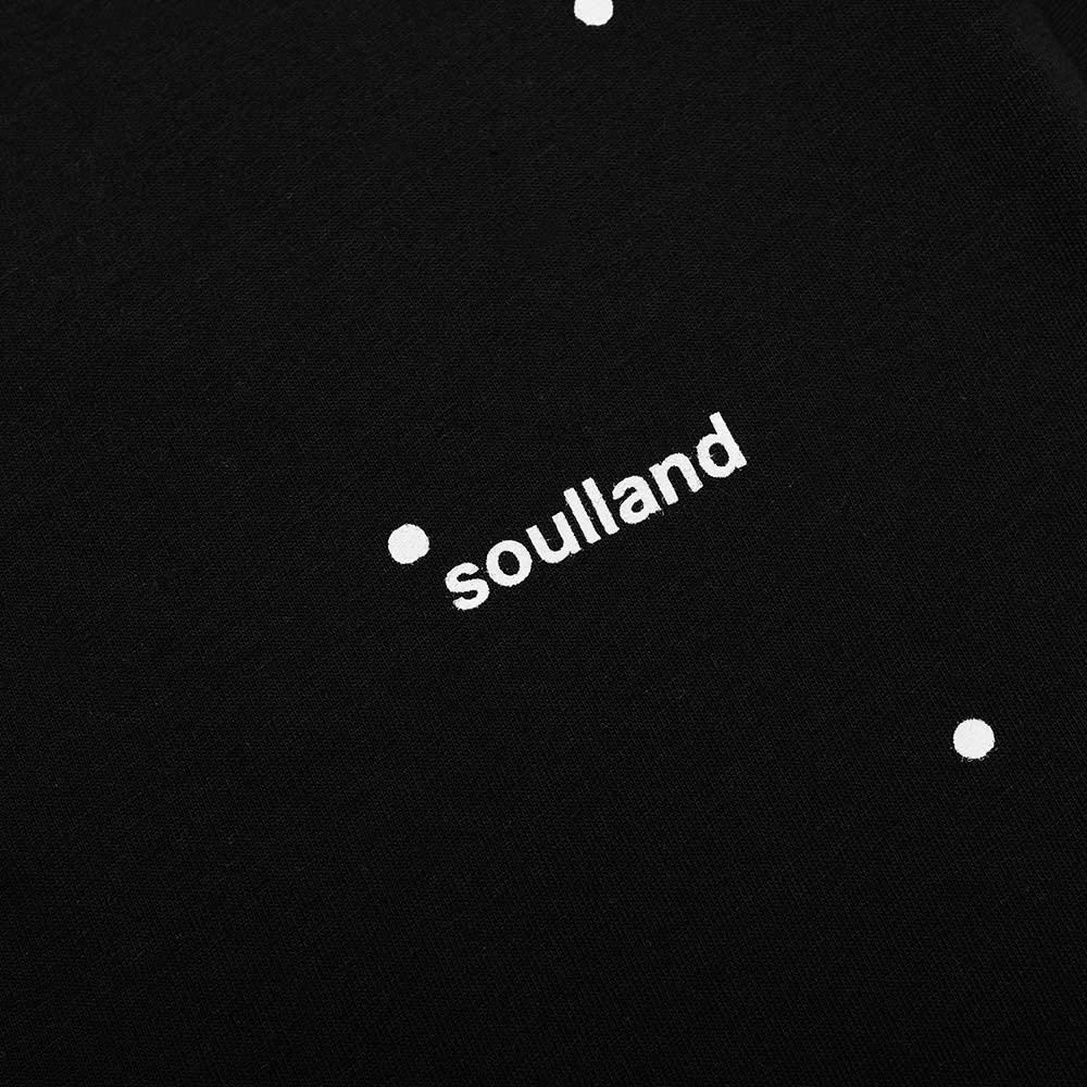 Soulland Coffey Logo Tee - Black Dots