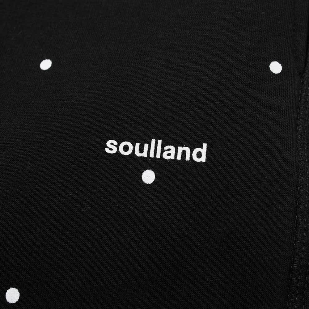 Soulland Elijah Sweat Pant - Black Dots