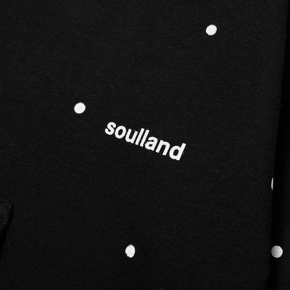 Soulland Wallance Logo Hoody - Black Dots