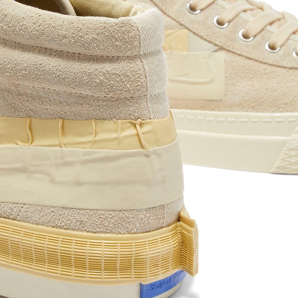Stepney Workers Club X Studio Hagel Varden Exp 1 High Sneaker - Ecru