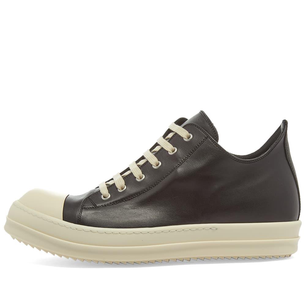 Rick Owens Low Top Sneaker - Black & Milk