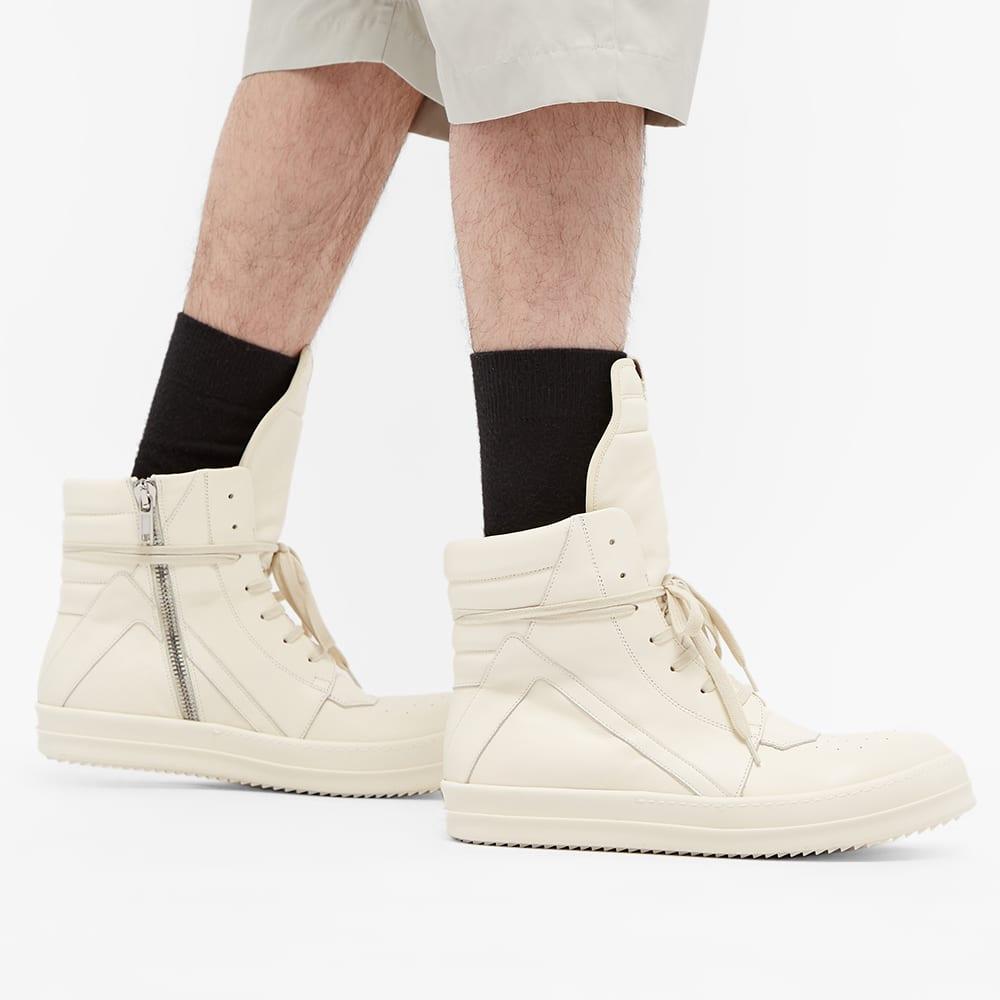 Rick Owens Geobasket Sneaker - Milk