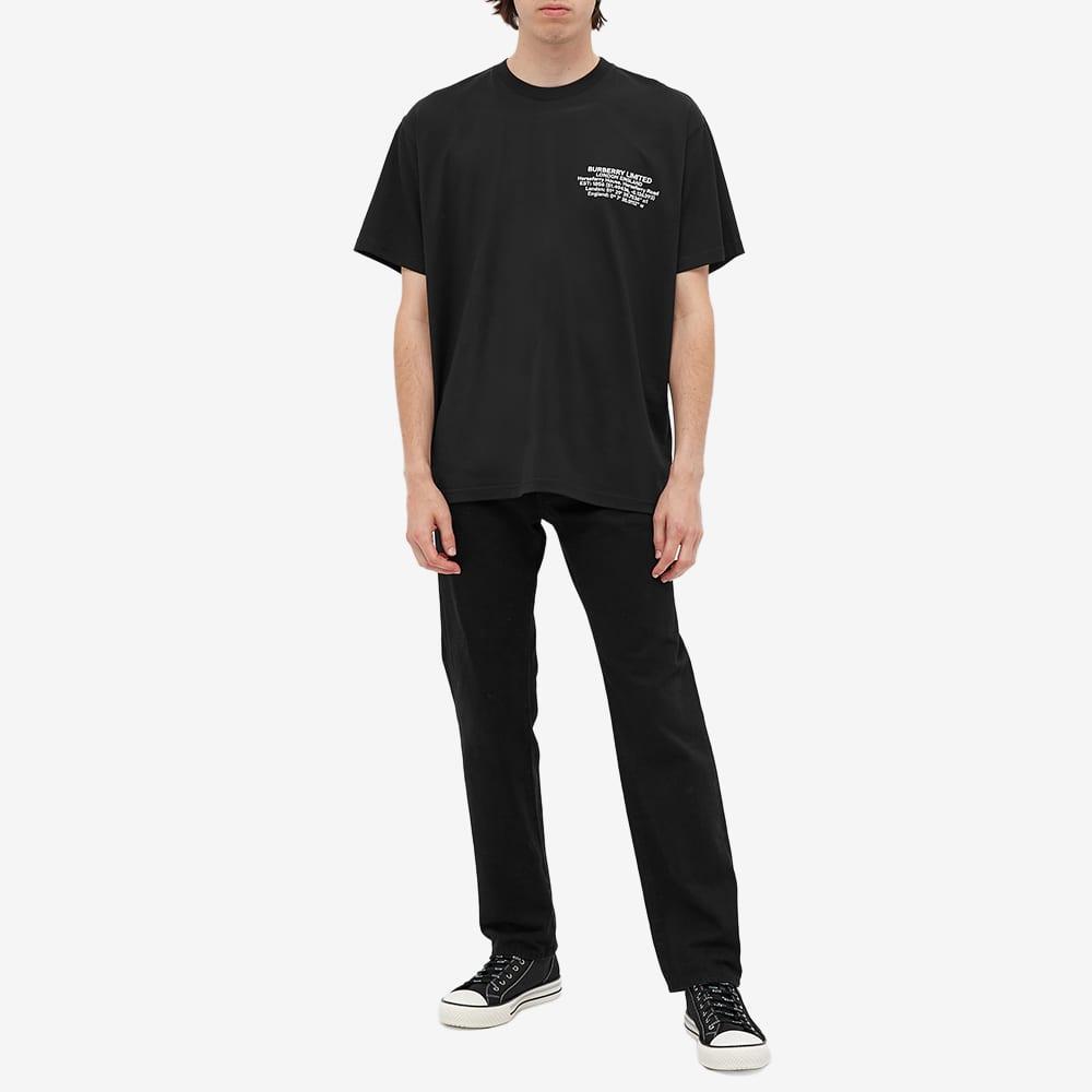 Burberry Abel Coordinates Logo Tee - Black