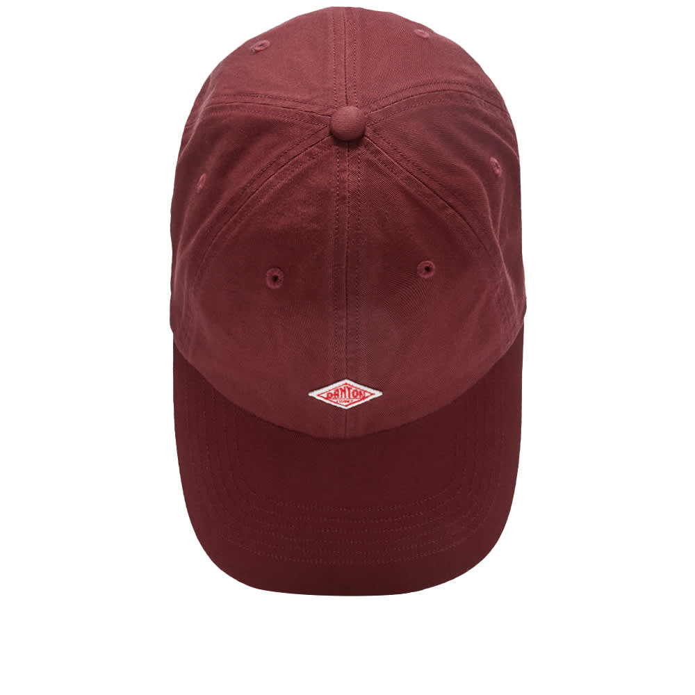 Danton Twill Baseball Cap - Burgundy