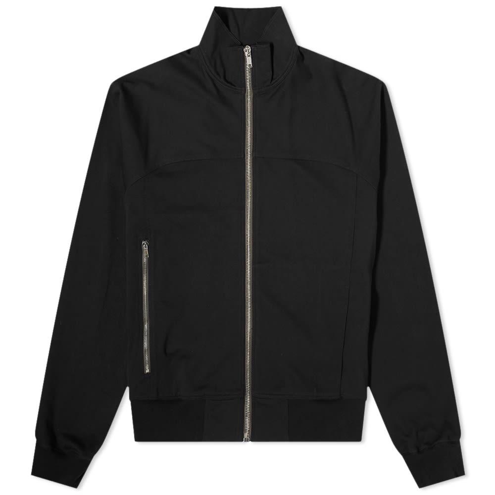 Rick Owens Zip Front Jogger Jacket - Black