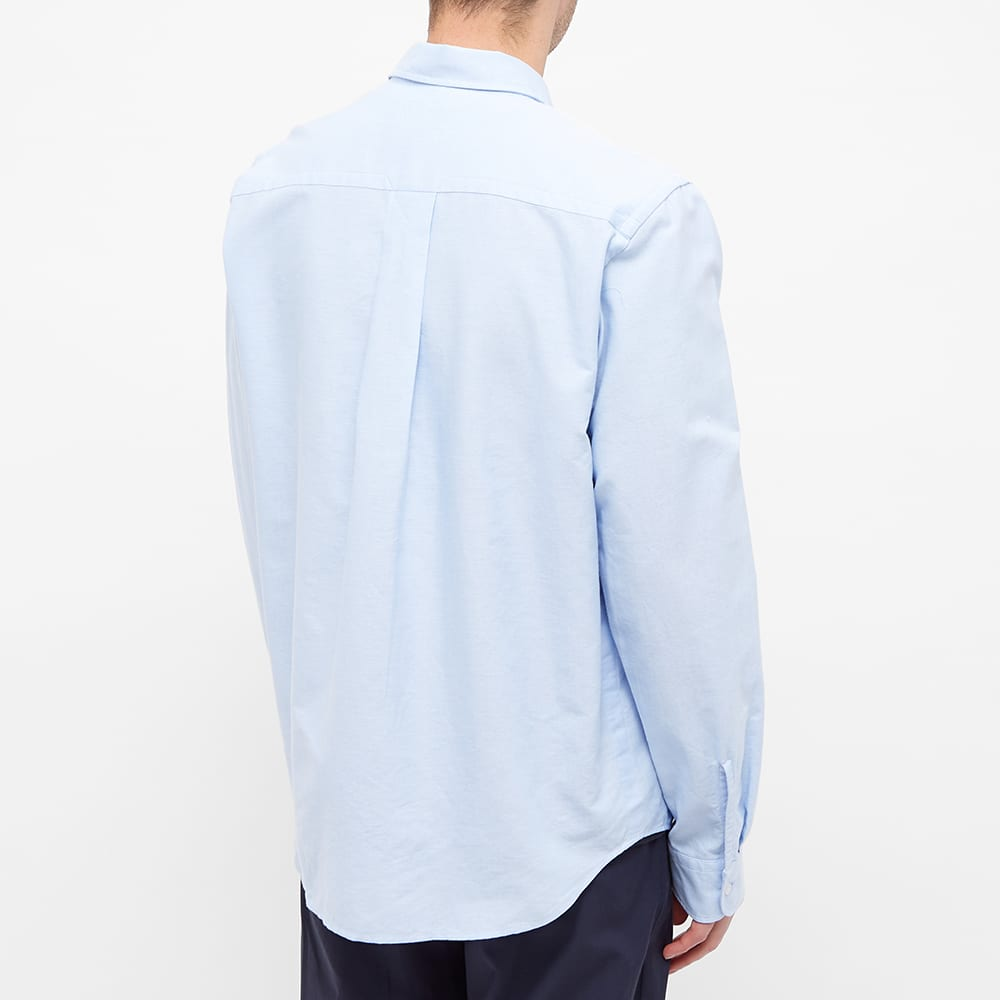 Kenzo Tiger Crest Oxford Button Down Shirt - Light Blue