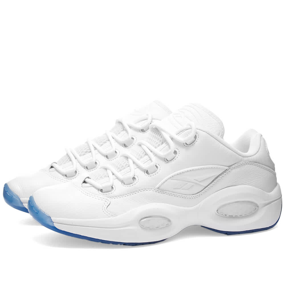 Reebok Question Low - White & Clear