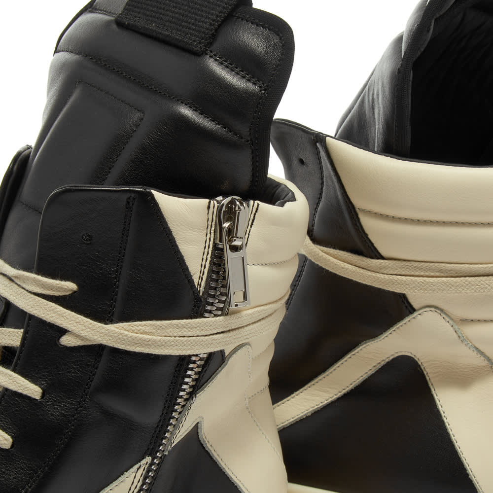 Rick Owens Geobasket Sneaker - Black & Milk