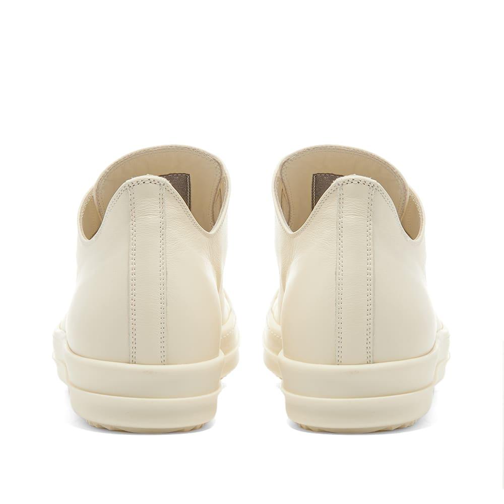 Rick Owens Low Top Sneaker - Milk