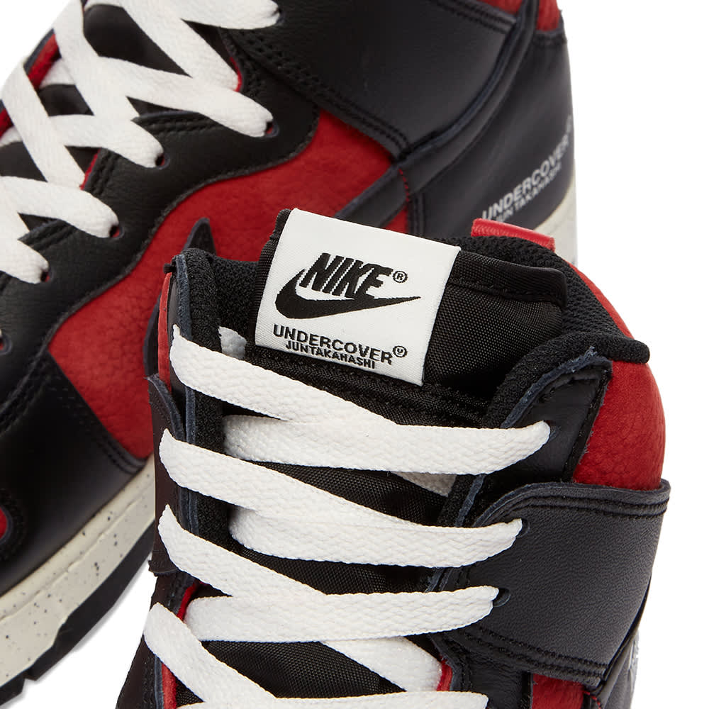Nike x Undercover Dunk Hi 1985 - Gym Red & Black