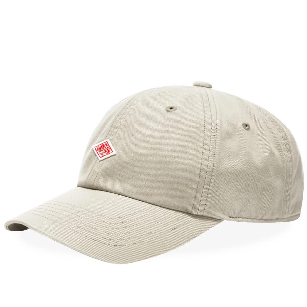 Danton Twill Baseball Cap - Off White