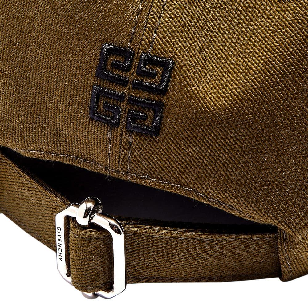 Givenchy Embroidered Logo Cap - Dark Khaki