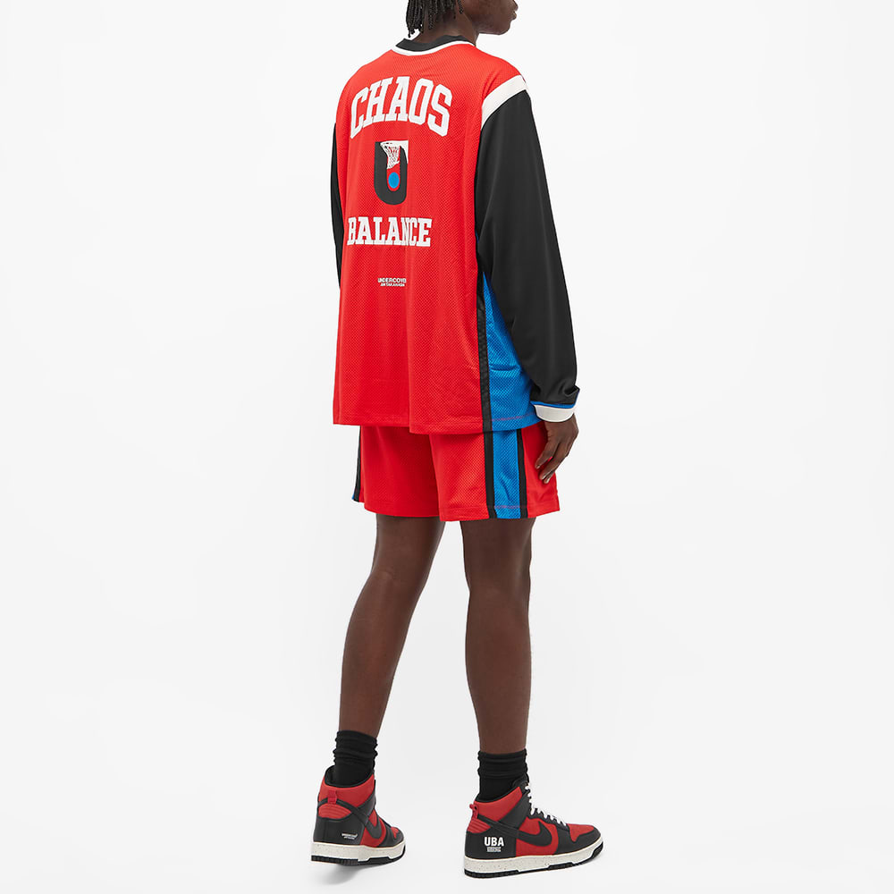 Nike x Undercover Long Sleeve Shooting Top - Red, Blue & Black