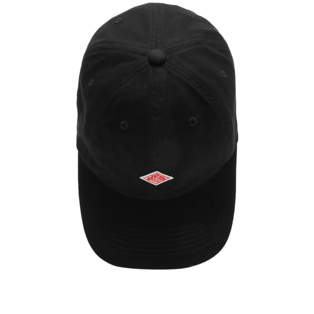 Danton Twill Baseball Cap - Black