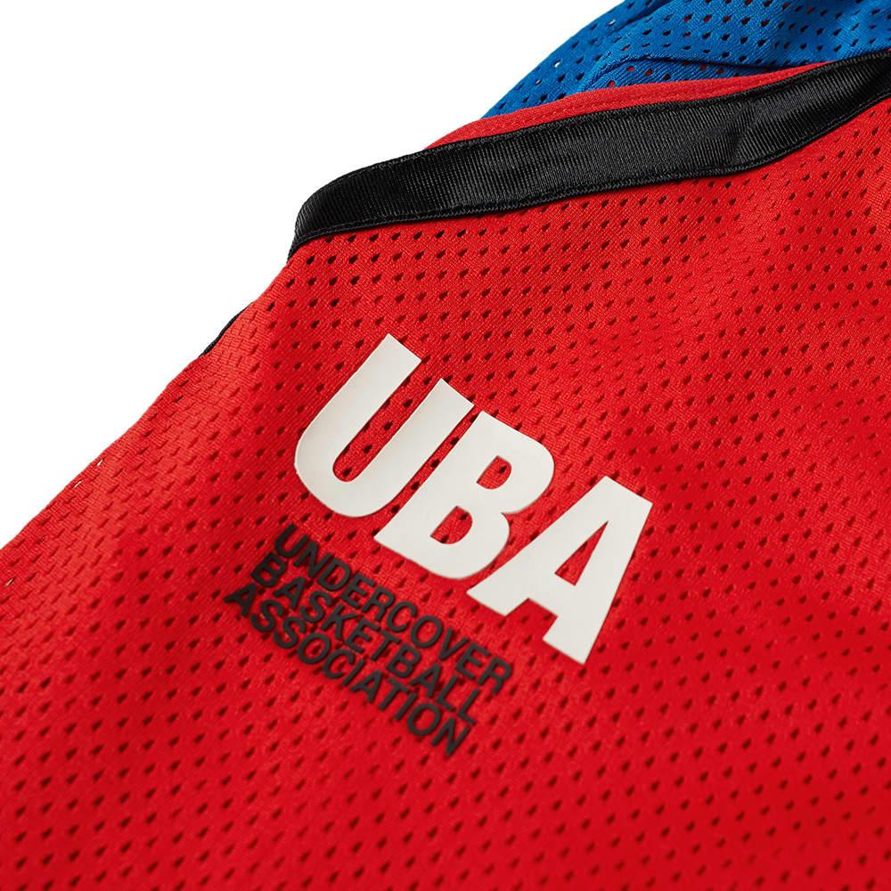 Nike x Undercover Mesh Short - Red, Blue & Black