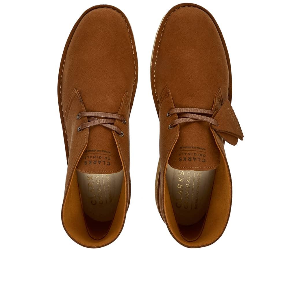 Clarks Originals Desert Boot Vegan - Brown