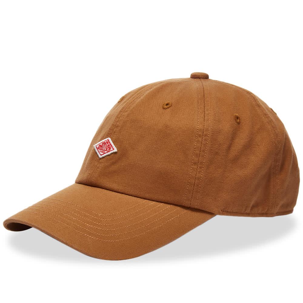 Danton Twill Baseball Cap - Brown