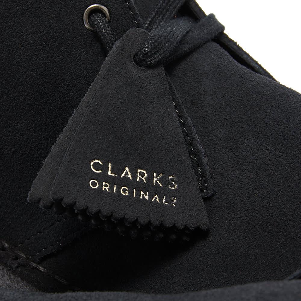 Clarks Originals Desert Boot - Navy Suede