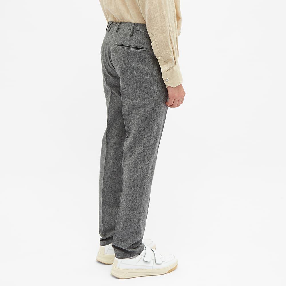 Incotex Slim Fit Wool Trouser - Grey
