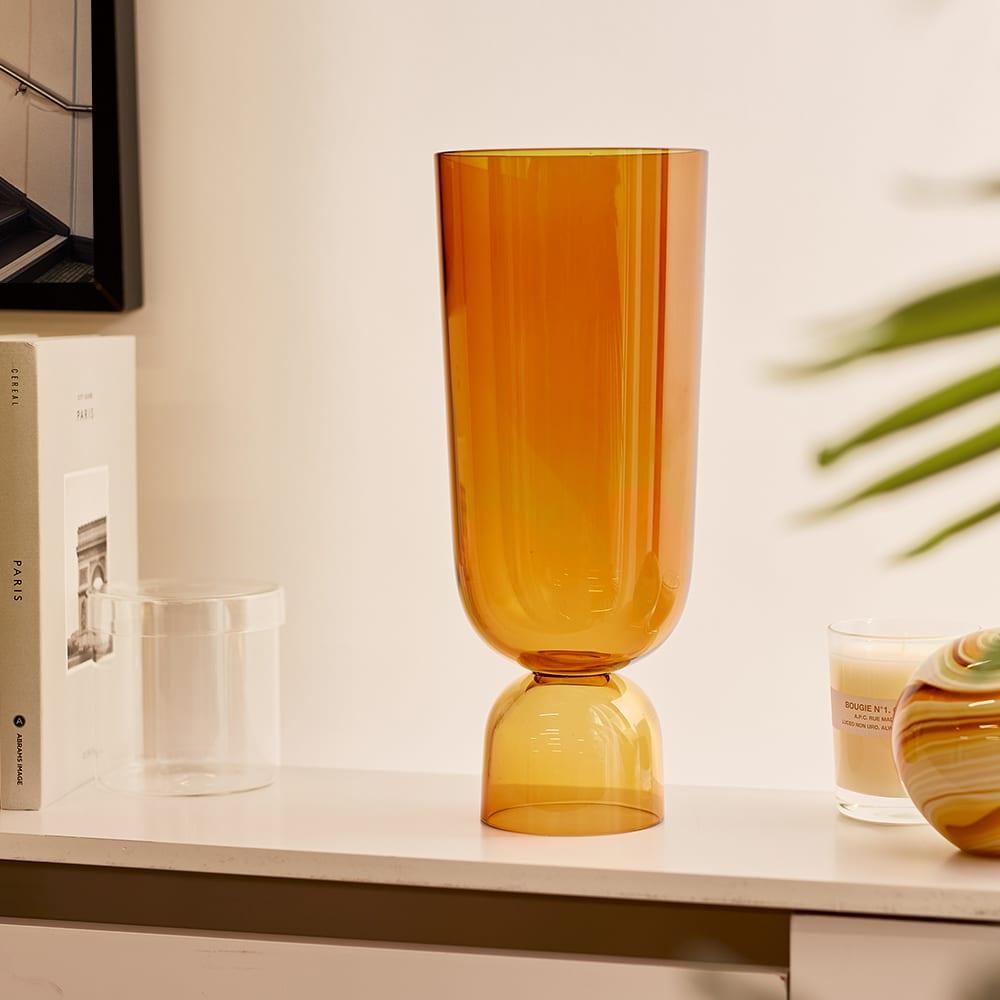 HAY Bottoms Up Vase - Large - Amber