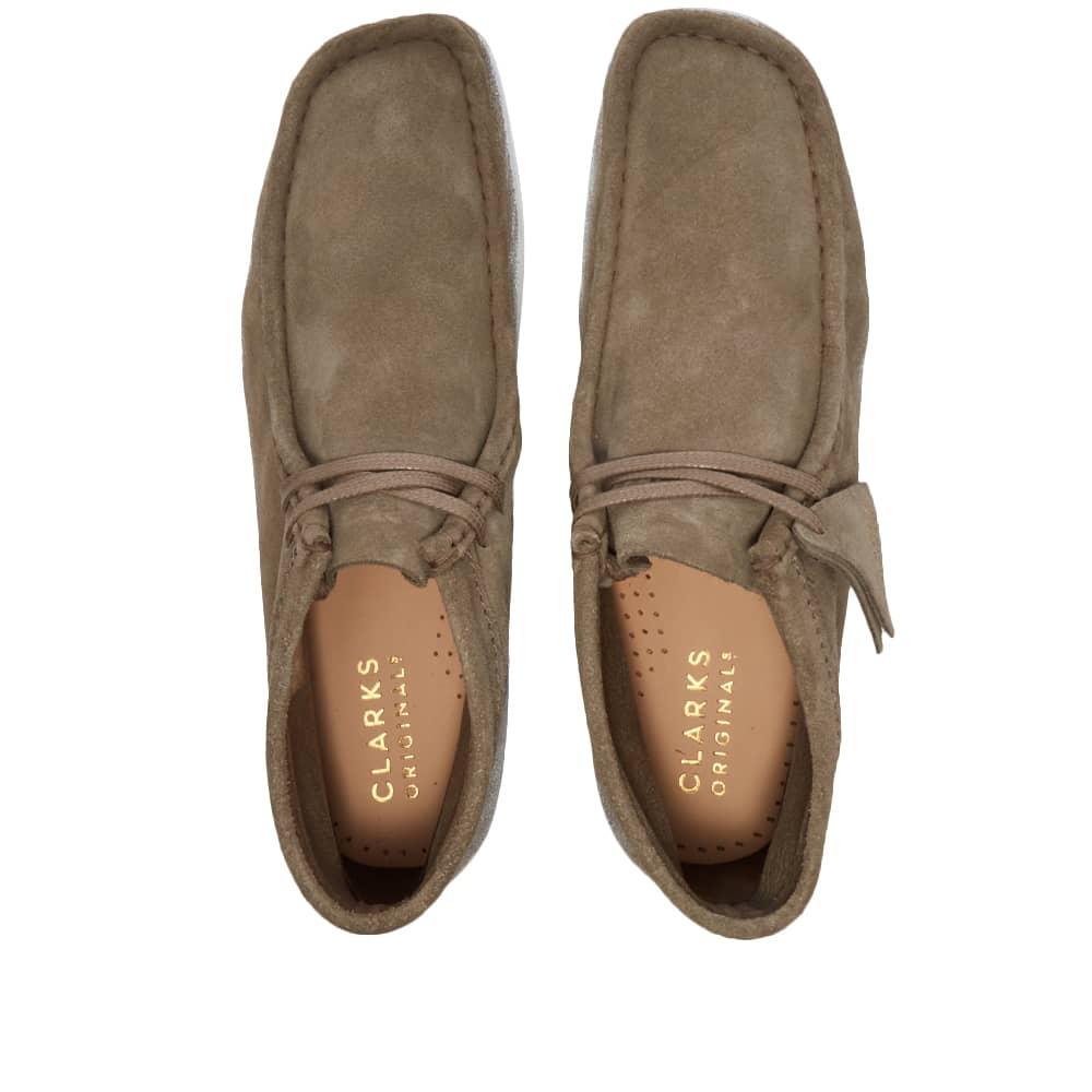 Clarks Originals Wallabee Boot Paint - Sage Combi