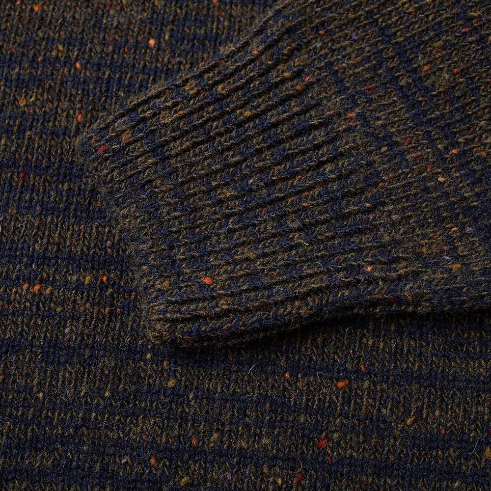 Norse Projects Viggio High Neck Neps Crew Knit - Quartz Green
