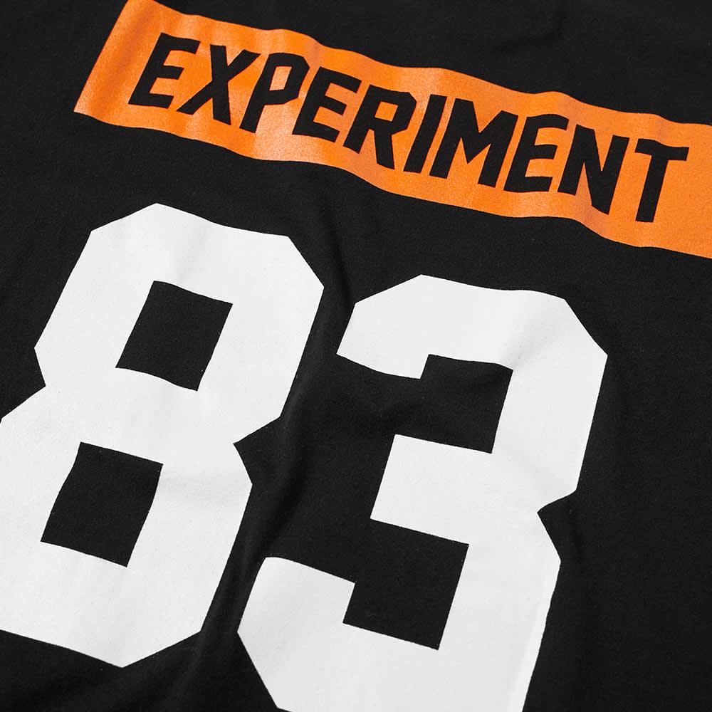 Uniform Experiment Drip Pocket Numbering Tee - Black