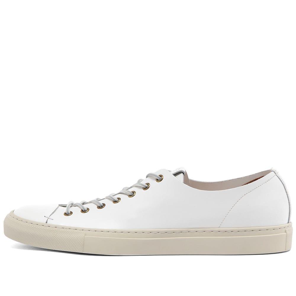 Buttero Tanino Low Sneaker Triple White