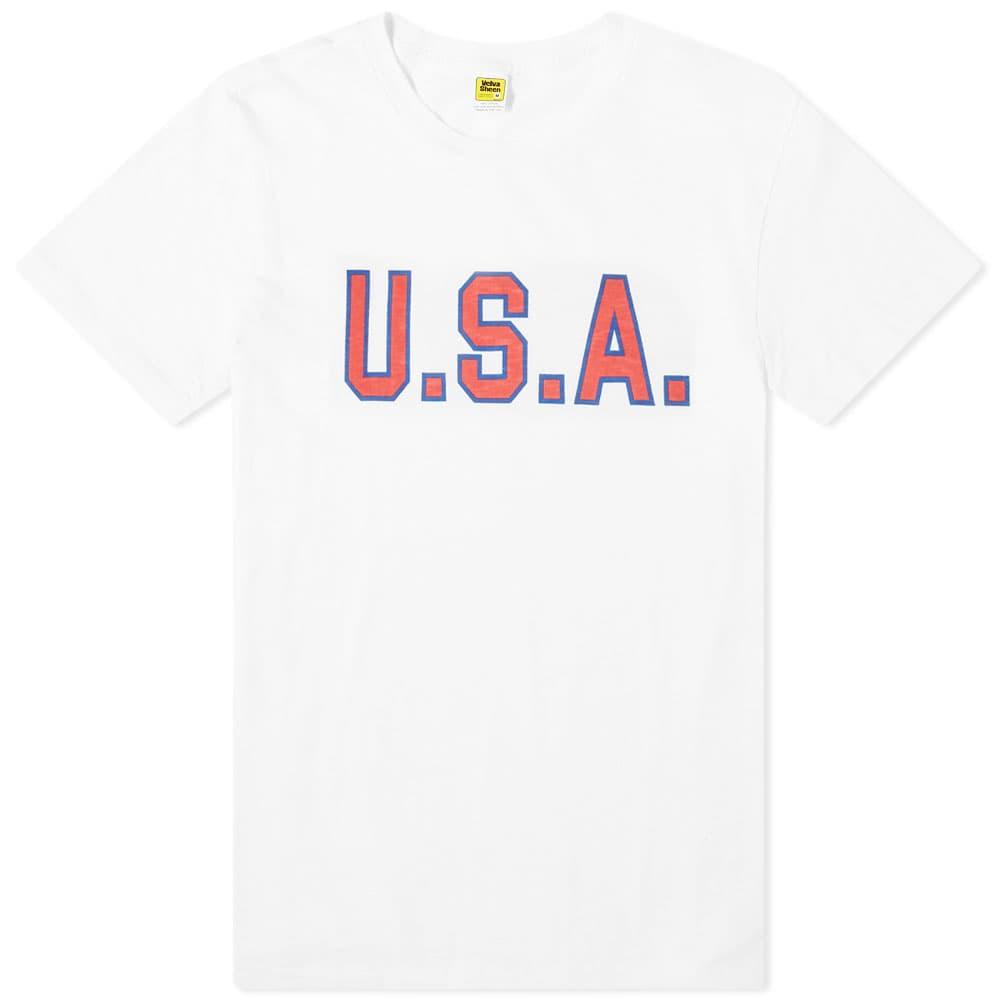 Velva Sheen U.S.A Tee - White