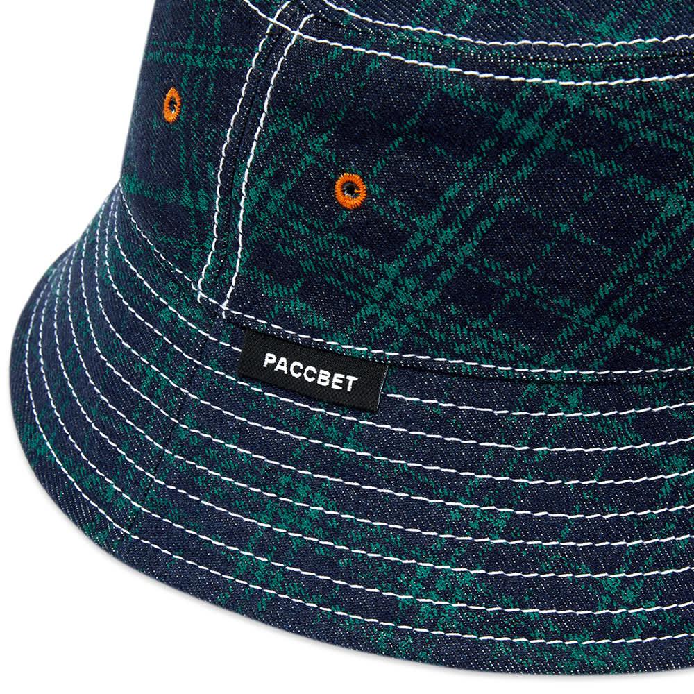 PACCBET Bucket Hat - Green Checks