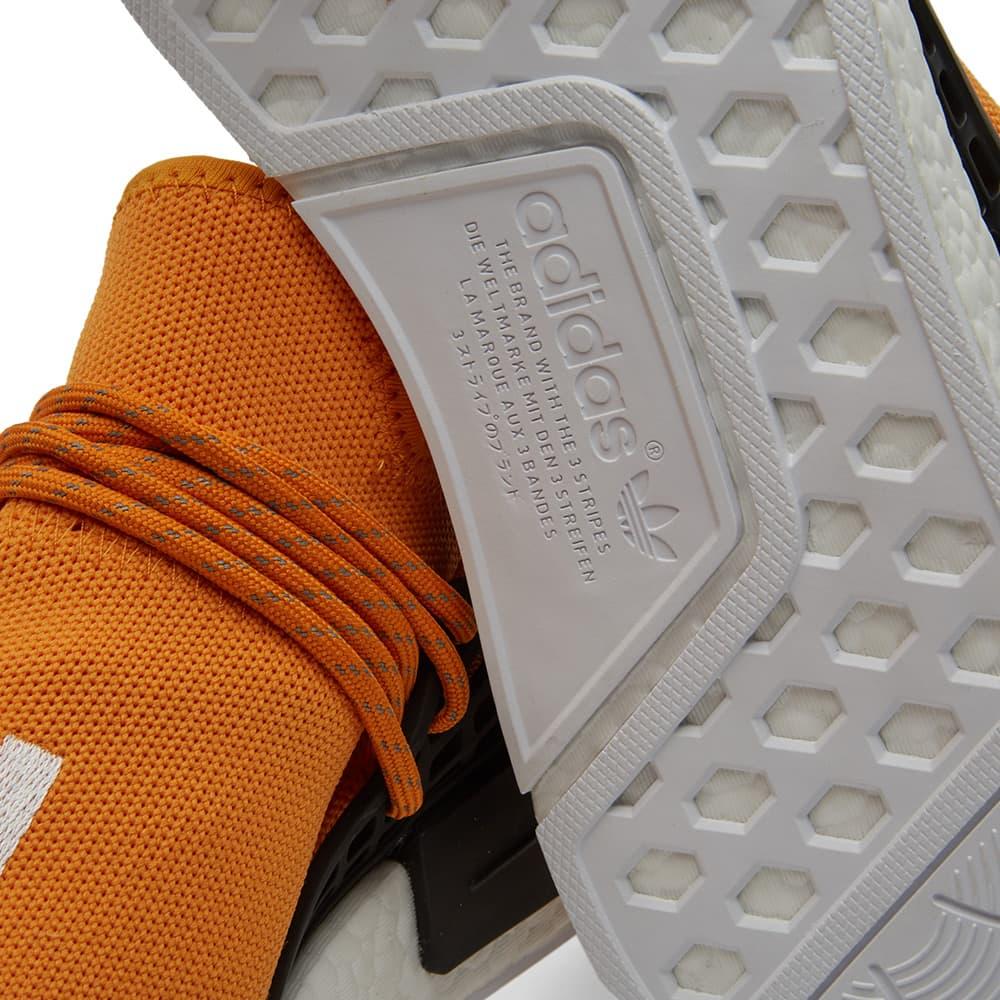 Adidas x Pharrell Williams Hu Human Race NMD - Tangerine & Core Black
