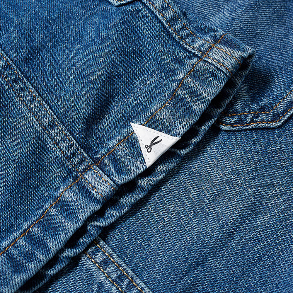 DENHAM Mao Denim Chore Jacket - Blue