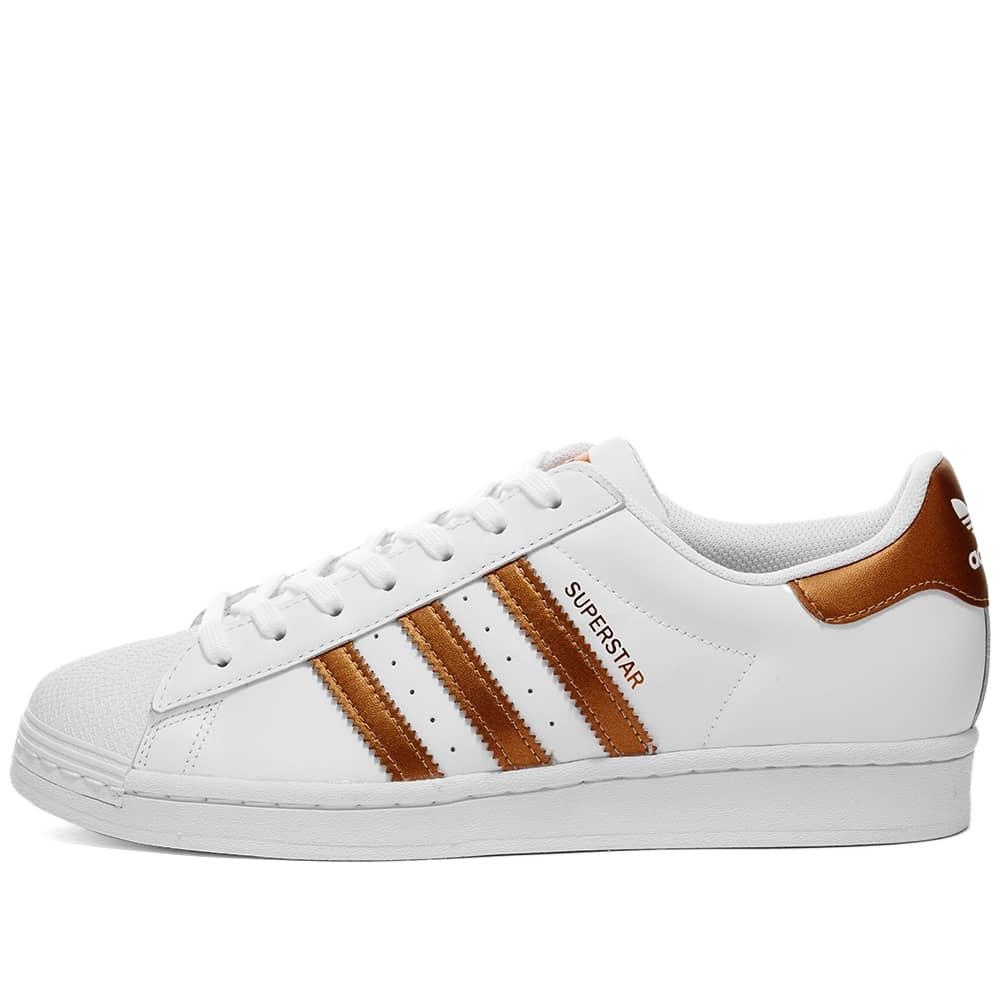 Adidas Superstar W White, Copper