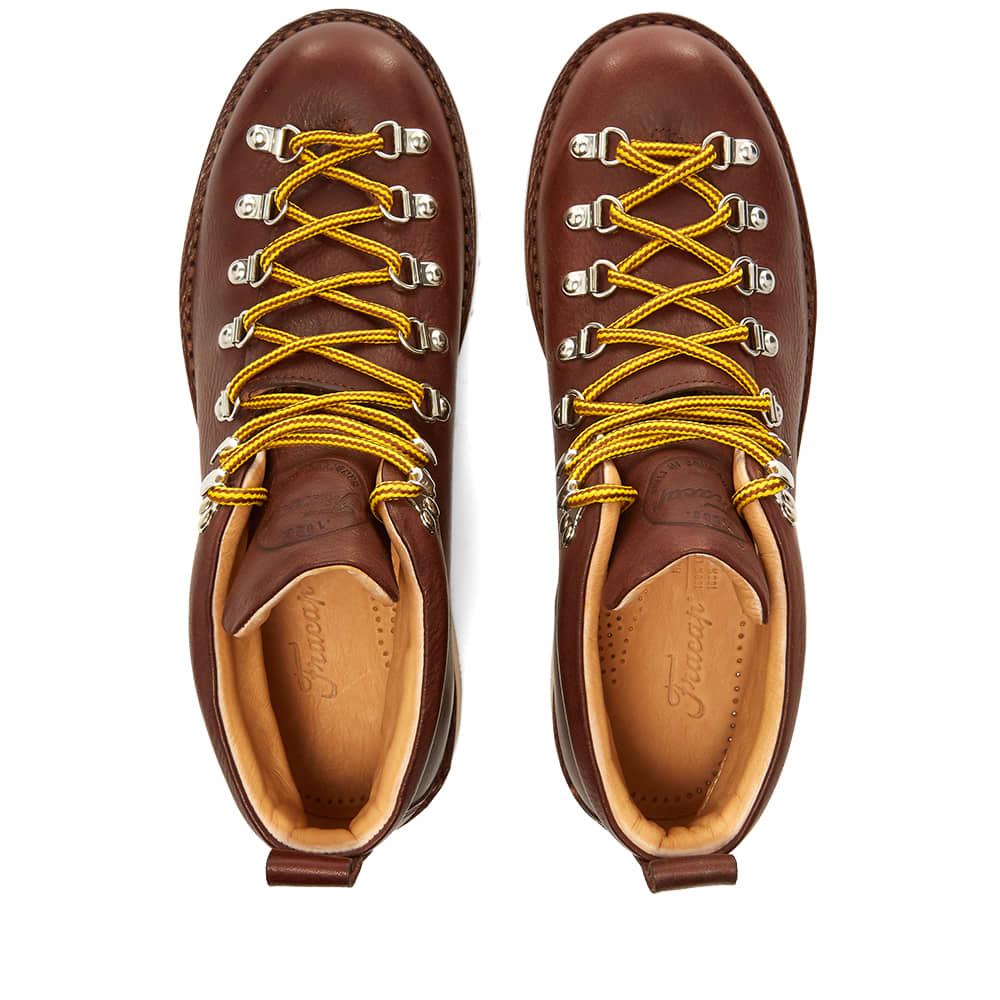 Fracap M120 Natural Vibram Sole Scarponcino Boot - Dark Brown
