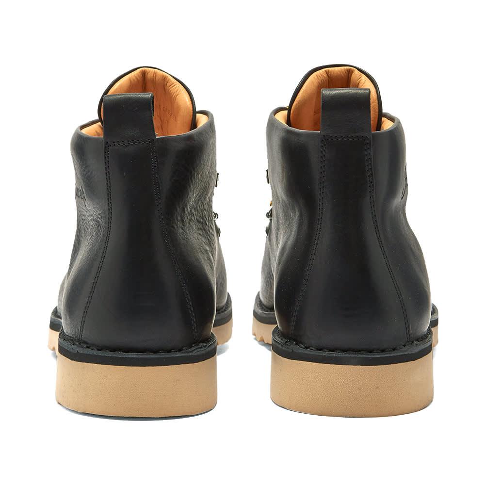 Fracap M120 Natural Vibram Sole Scarponcino Boot - Black
