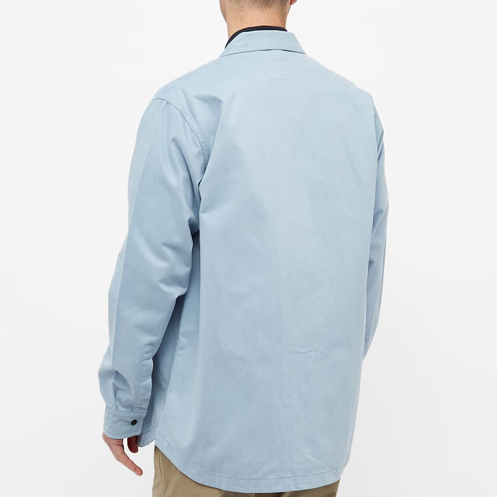 Maharishi Day Travel Shirt - Ghost Blue