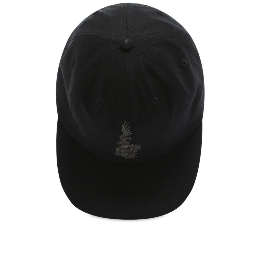 Maharishi Embroidered Dragon 6 Panel Cap - Black