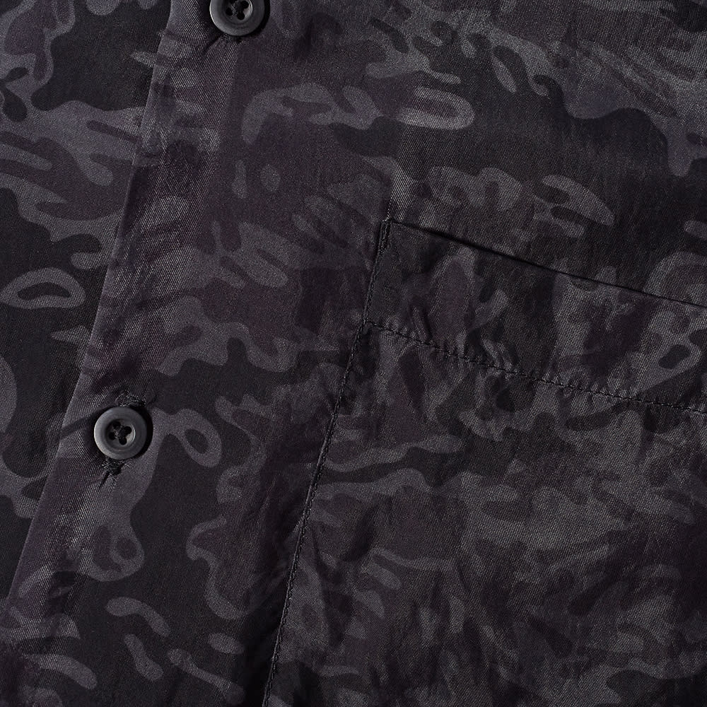 Maharishi Camo Vacation Shirt - Black