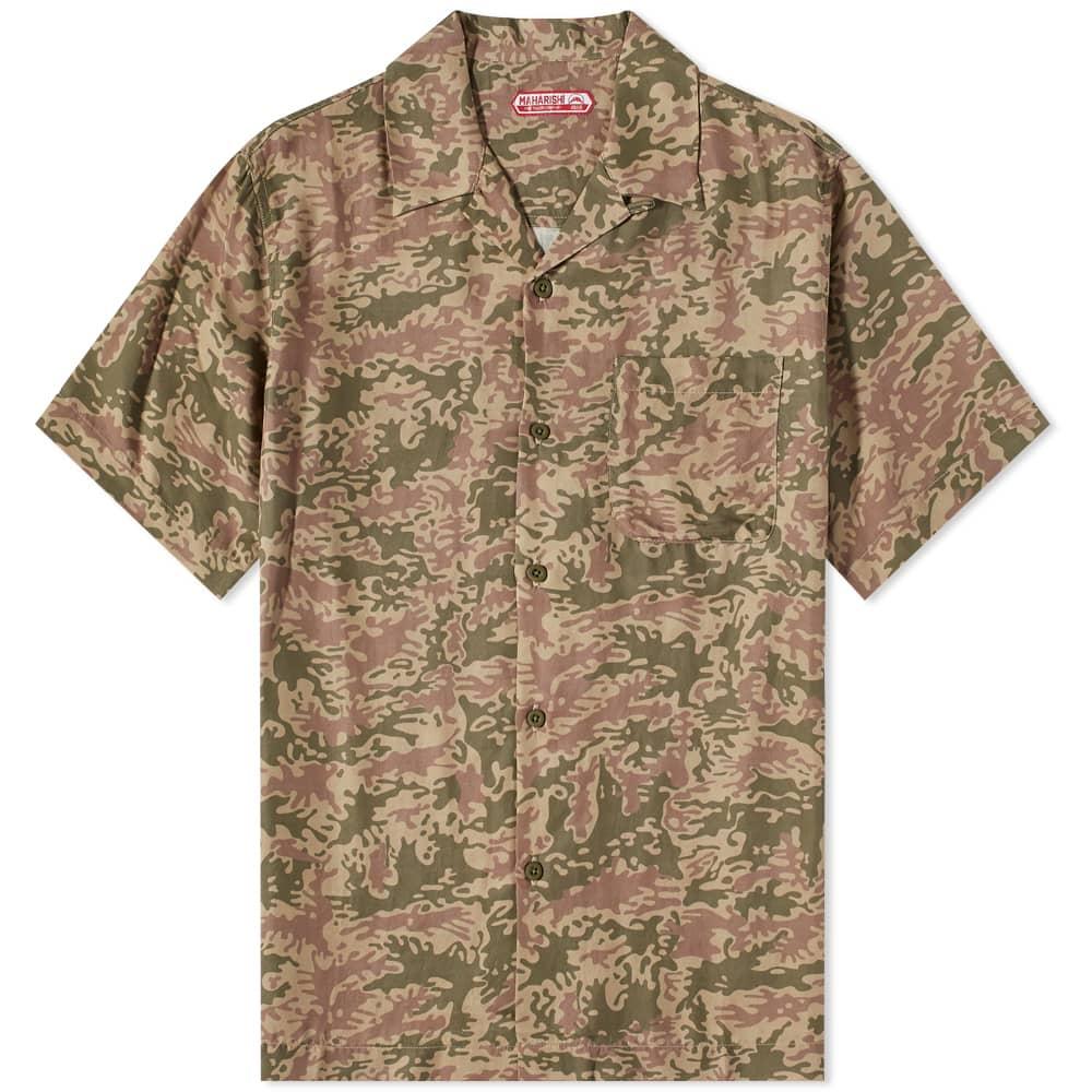 Maharishi Camo Vacation Shirt - Olive